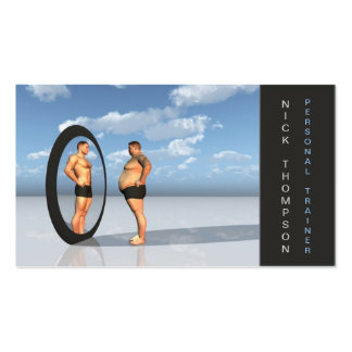 Professional Personal Trainer / Fitness Card Pack Of Standard Business Cards