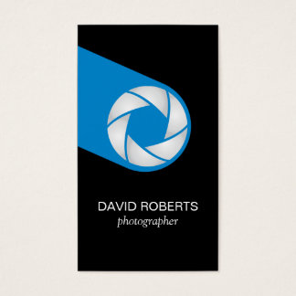 Professional Photographer Camera Photography Business Card