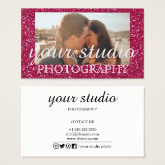 Professional Photography Business Card