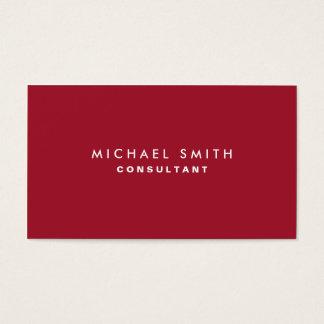 Professional Plain Elegant Interior Decorator Red