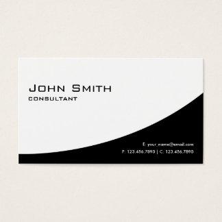 Professional Plain Elegant Modern Black and White
