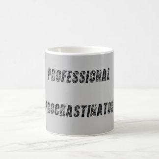 Professional Procrastinator Basic White Mug