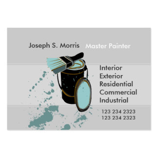 Professional Promotional House Painters Business Card Templates