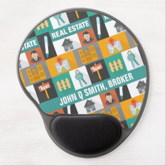 Professional Real Estate Agent Gel Mouse Pad