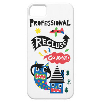 Professional Recluse iPhone 5 case