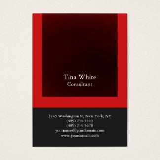 Professional Red Gray Color Striped Unique