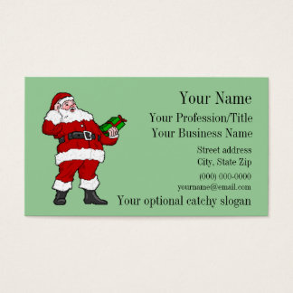 Professional Santa Business Card