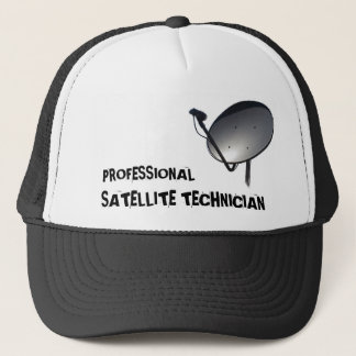 PROFESSIONAL SATELLITE DISH TECHNICIAN TRUCKER HAT