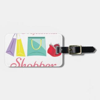 Professional Shopper Luggage Tag