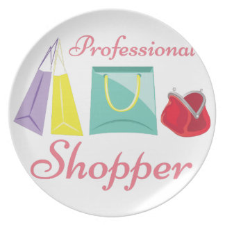 Professional Shopper Plate