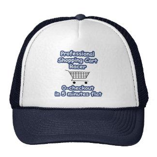 Professional Shopping Cart Racer Cap