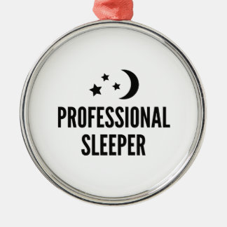 Professional Sleeper Metal Ornament