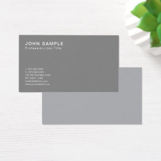 Professional Smart Design Classic Colors Harmony Business Card