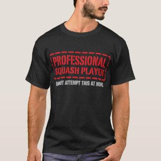 Professional Squash Player T-Shirt