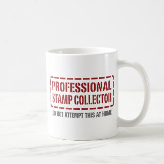 Professional Stamp Collector Coffee Mugs