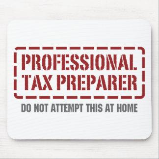 Professional Tax Preparer Mouse Pad