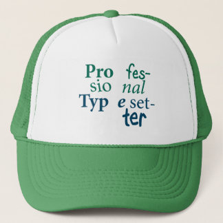 Professional Typesetter Hat