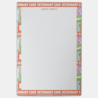 Professional Veterinarian•Custom Post-it Notes