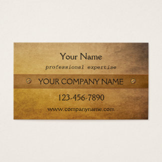 Professional Vintage Rustic Stylish Business Card