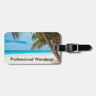 Professional Wanderer - Customizable Luggage Tag