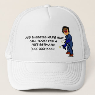Professional Welder Ad Trucker Hat