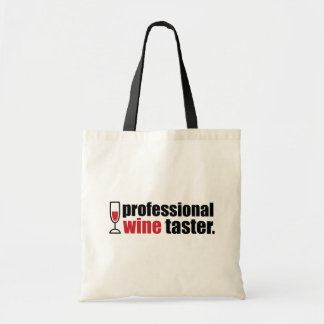 Professional Wine Taster Budget Tote Bag