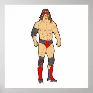 Professional Wrestler Poster