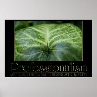 Professionalism Poster