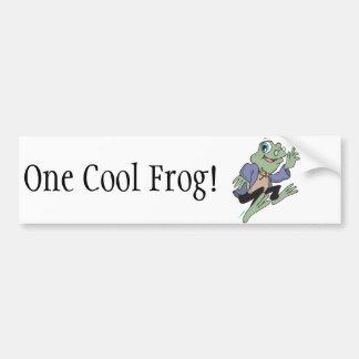 Professor Frog Bumper Stickers