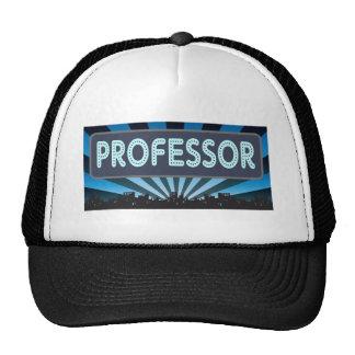 Professor Marquee Hats