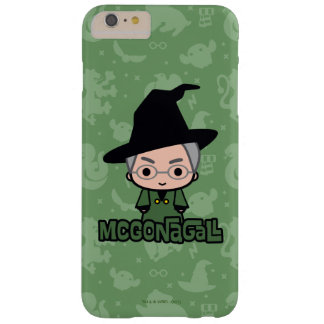 Professor McGonagall Cartoon Character Art Barely There iPhone 6 Plus Case