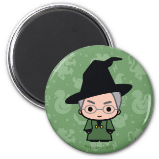Professor McGonagall Cartoon Character Art Magnet