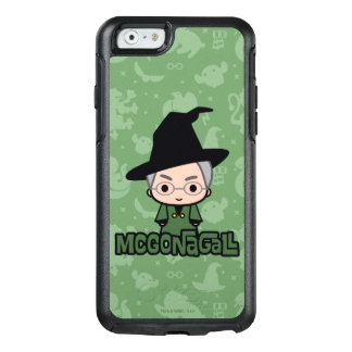 Professor McGonagall Cartoon Character Art OtterBox iPhone 6/6s Case
