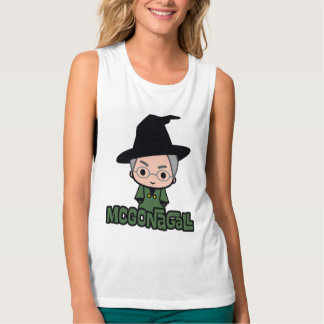 Professor McGonagall Cartoon Character Art Singlet