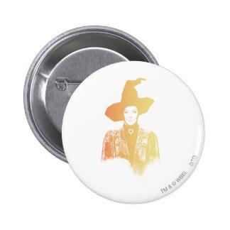 Professor Minerva McGonagall 6 Cm Round Badge