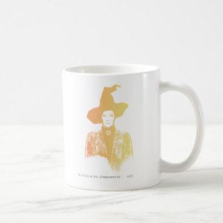 Professor Minerva McGonagall Basic White Mug