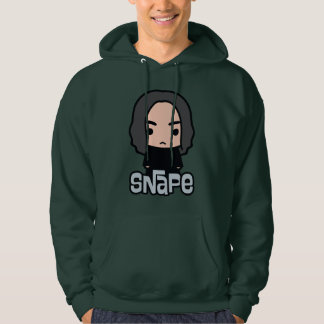 Professor Snape Cartoon Character Art Hoodie