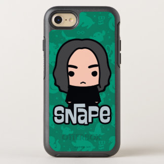 Professor Snape Cartoon Character Art OtterBox Symmetry iPhone 8/7 Case
