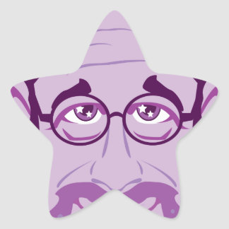 Professor Star Sticker