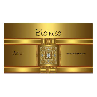 Profile Business Card Gold on Gold  Jewel