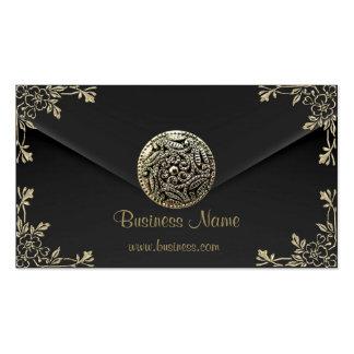 Profile Business Sepia Black Velvet Look Pack Of Standard Business Cards