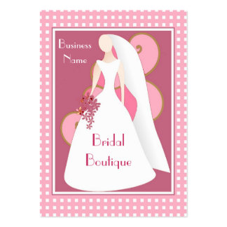 Profile Card Bridal Dress Boutique Business Pack Of Chubby Business Cards