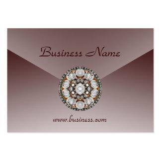 Profile Card Business Choc Malt Jewel Business Card Template