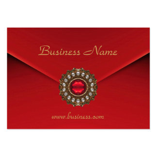 Profile Card Business Red Look Image Business Card Templates