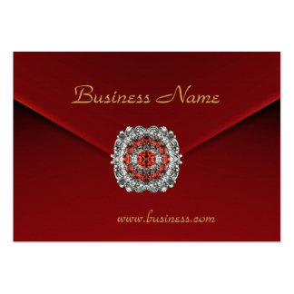 Profile Card Business Red Velvet Look Image Business Card Templates