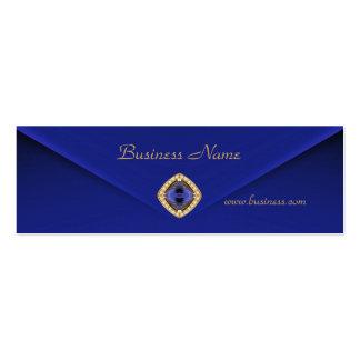 Profile Card Business Rich Blue Velvet Jewel 2 Business Card Templates