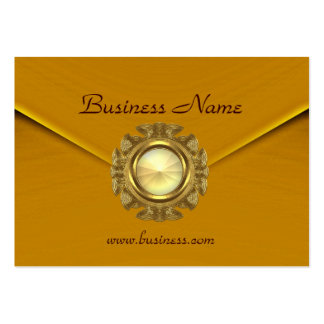 Profile Card Business Rich Velvet Mustard Jewel Business Card Templates