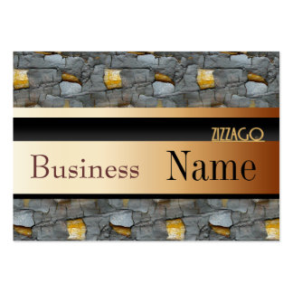 Profile Card Business Tree Black Gold 55 Business Card Templates