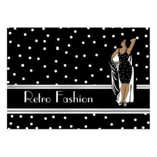 Profile Card Retro Fashion Vintage Pack Of Chubby Business Cards