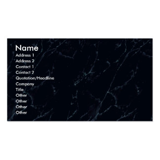 Profile Card Template - Dark Marble Texture Business Card Templates
